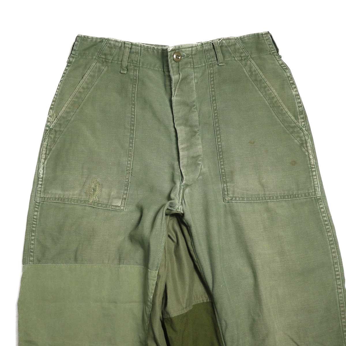 BONUM / Military FAT Pants (typeC) 正面 股上