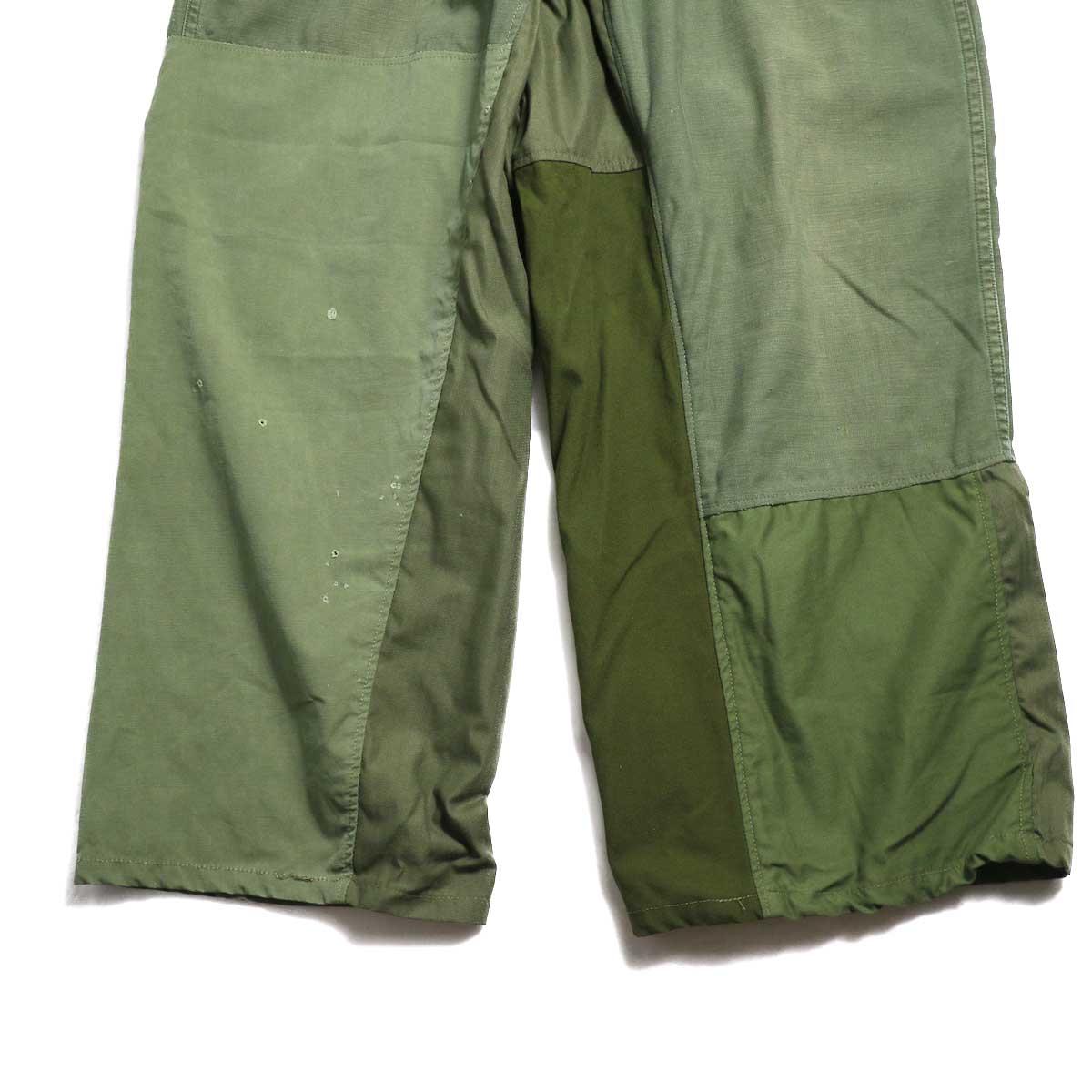 BONUM / Military FAT Pants (typeC) 正面股下