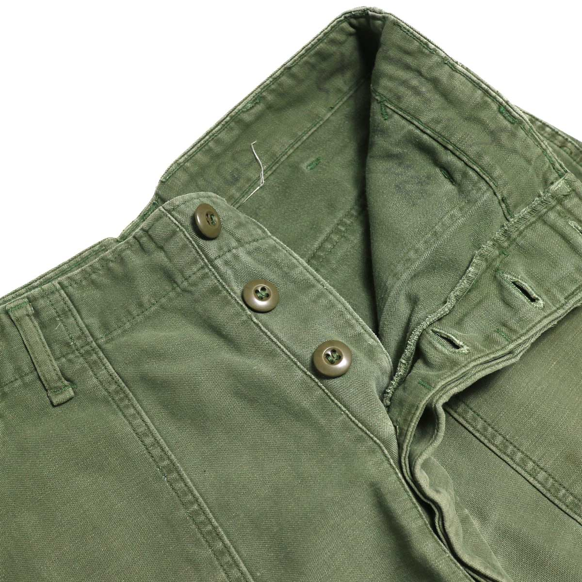 BONUM / Military FAT Pants (typeC) ボタンフライ
