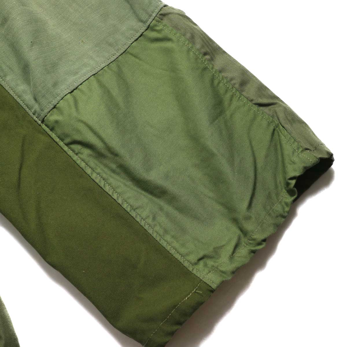 BONUM / Military FAT Pants (typeC) パッチワーク