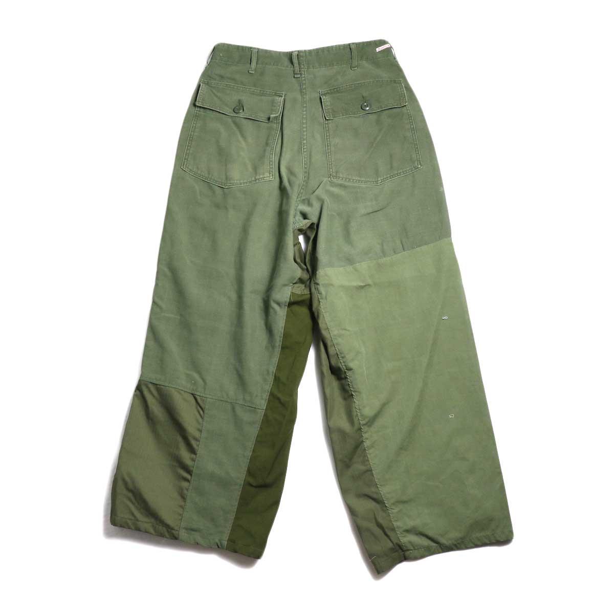 BONUM / Military FAT Pants (typeC) 背面