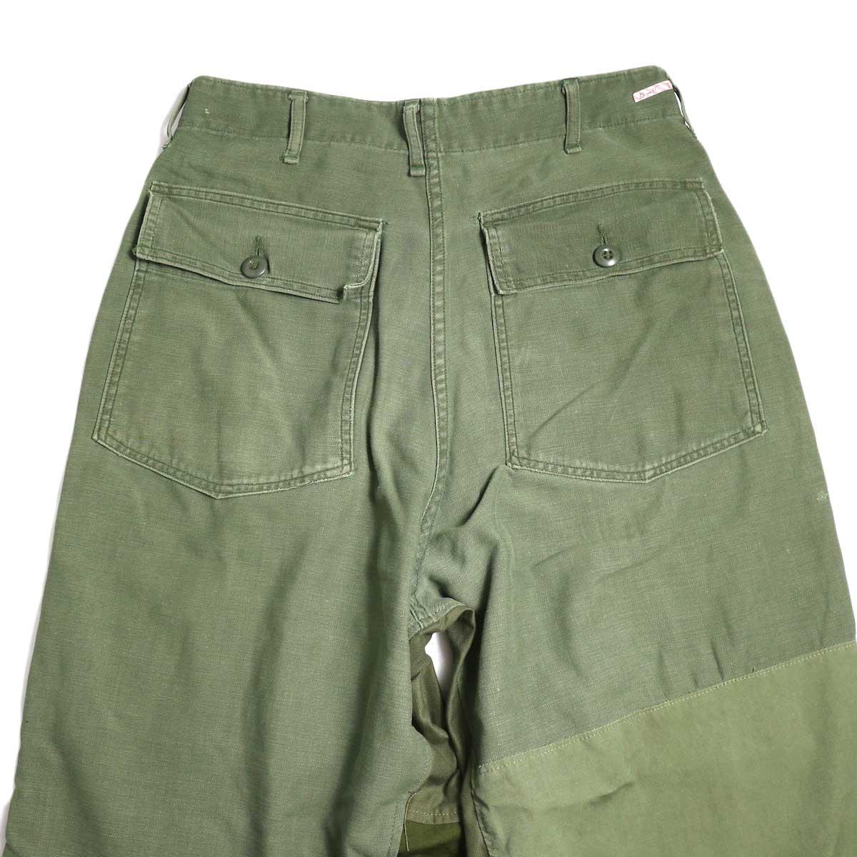 BONUM / Military FAT Pants (typeC) フラップポケット