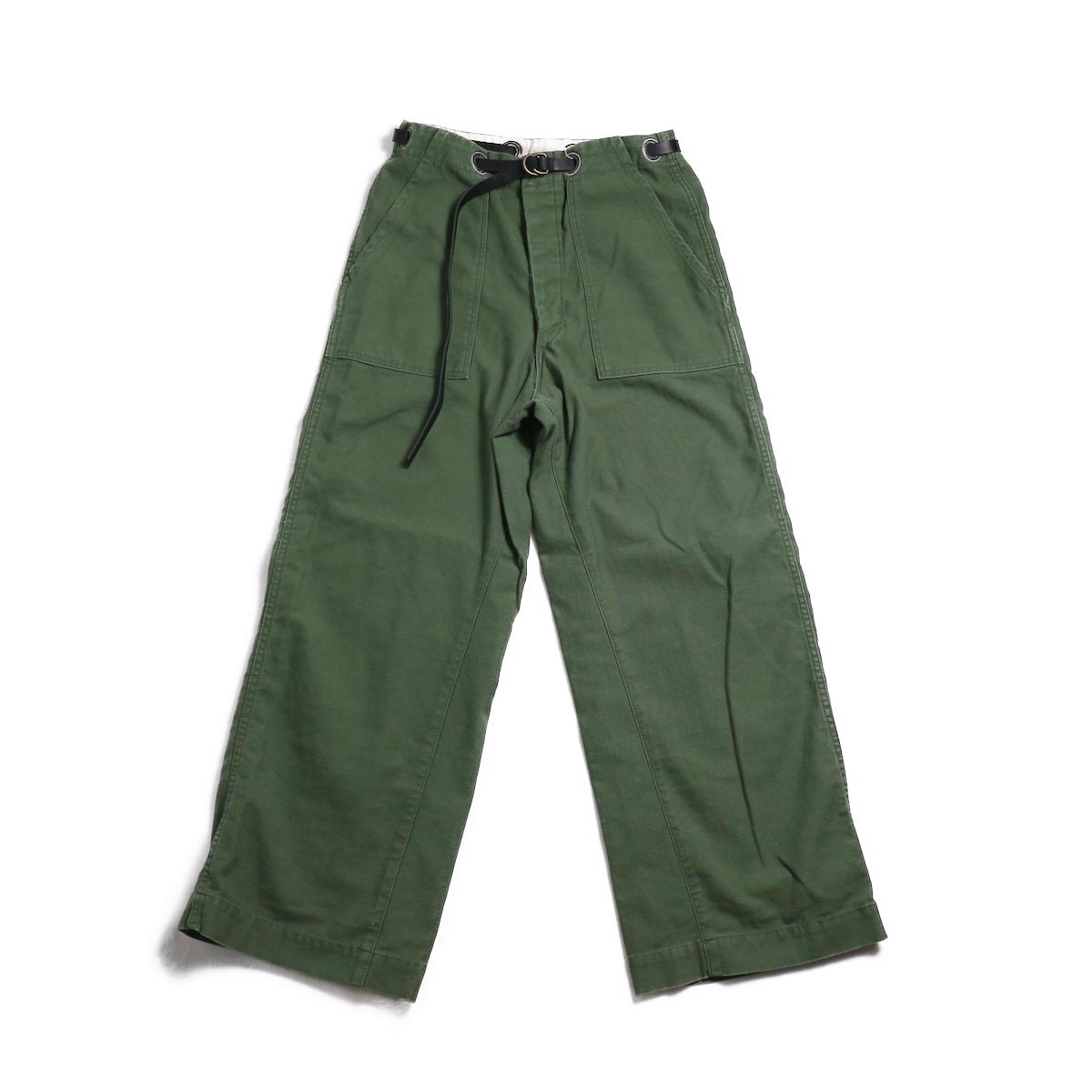 BONUM / OR DEADSTOCK BELTED ARMY PTS 正面