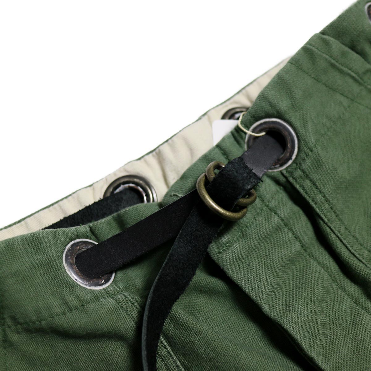 BONUM / OR DEADSTOCK BELTED ARMY PTS 牛革リングベルト