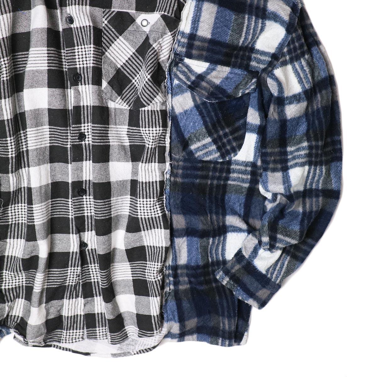 BONUM / W NEL SH (typeC) 裾・袖