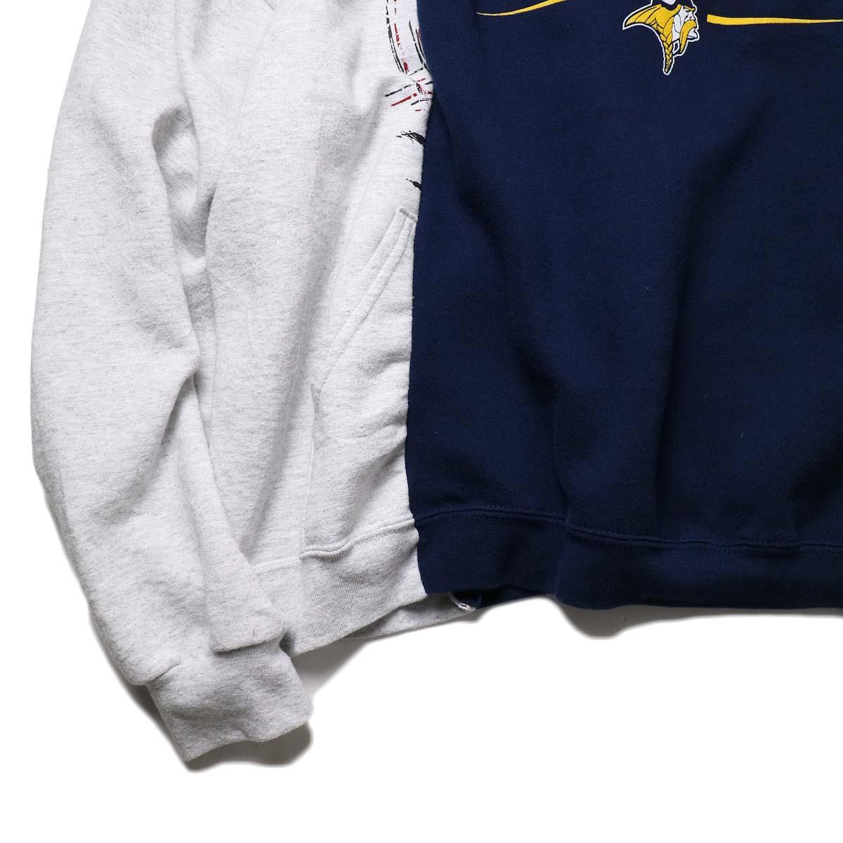 BONUM / W SWEAT (typeC)袖、裾