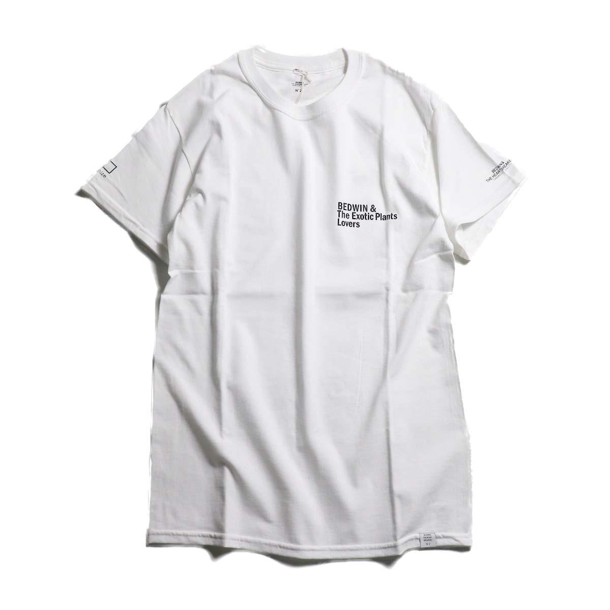 BEDWIN & THE HEARTBREAKERS × BOTANIZE Back Print T-Shirts