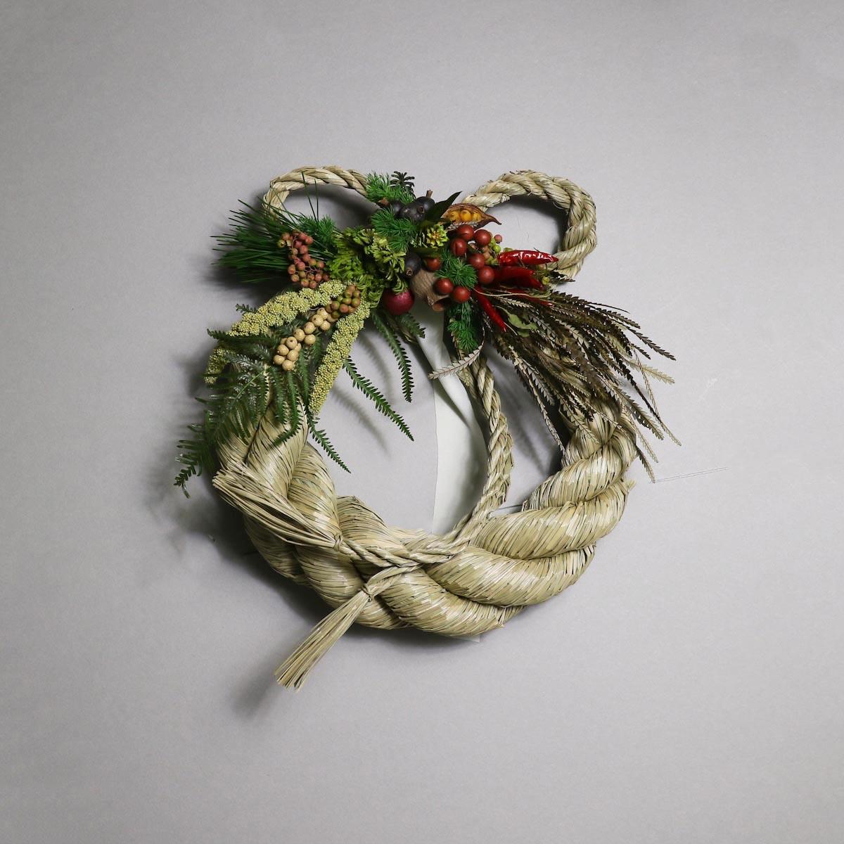 BOTANIZE&D / SHIMENAWA wreathe -L-  (typeB)