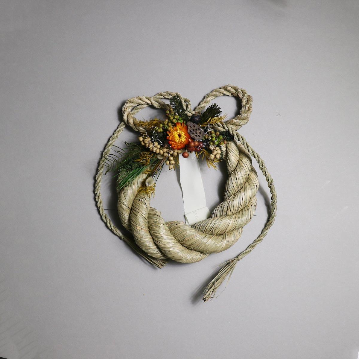 BOTANIZE&D / SHIMENAWA wreathe -M-  (typeA)