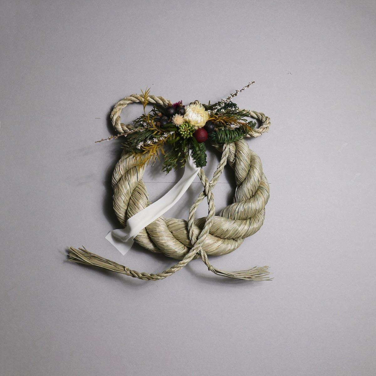 BOTANIZE&D / SHIMENAWA wreathe -M-  (typeB)