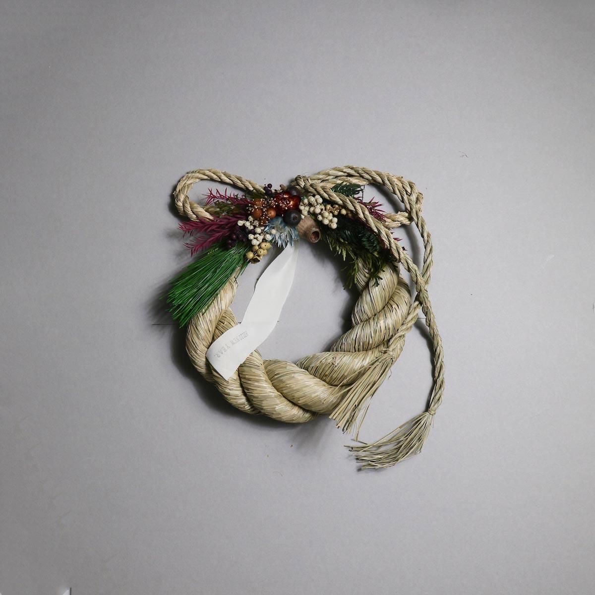 BOTANIZE&D / SHIMENAWA wreathe -M-  (typeC)