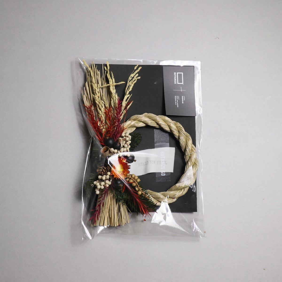 BOTANIZE&D / SHIMENAWA wreathe -S- (typeA)正面