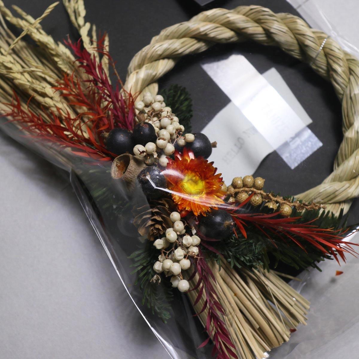 BOTANIZE&D / SHIMENAWA wreathe -S- (typeA)アップ
