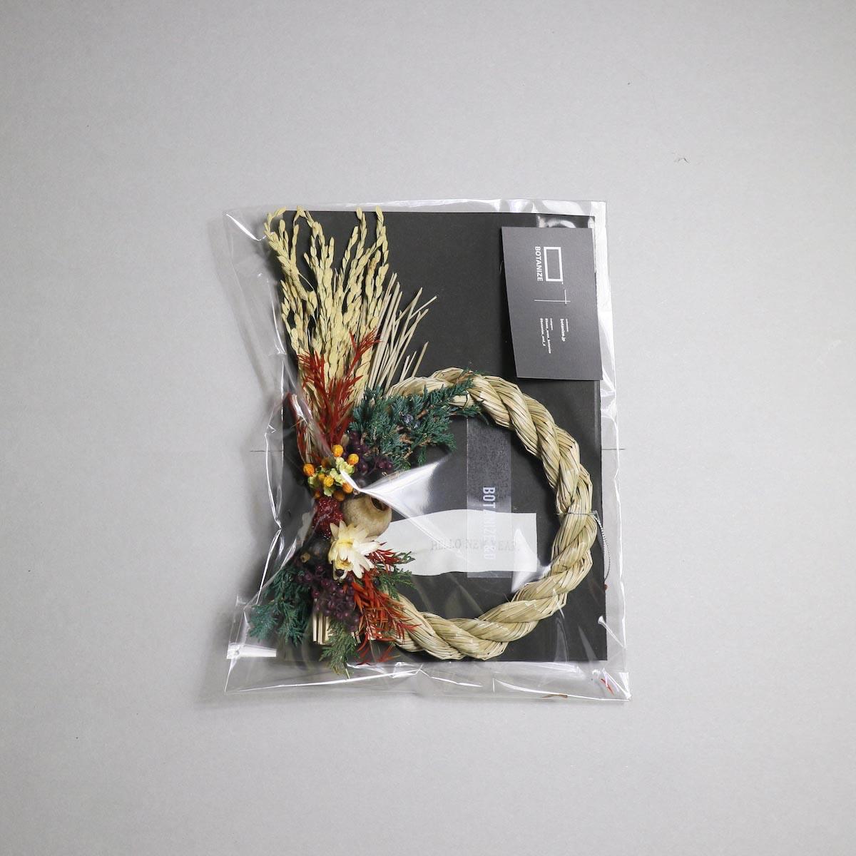 BOTANIZE&D / SHIMENAWA wreathe -S- (typeB)正面