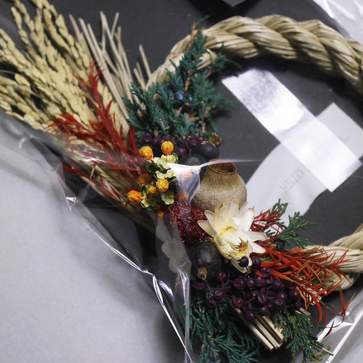 BOTANIZE&D / SHIMENAWA wreathe -S- (typeB)アップ