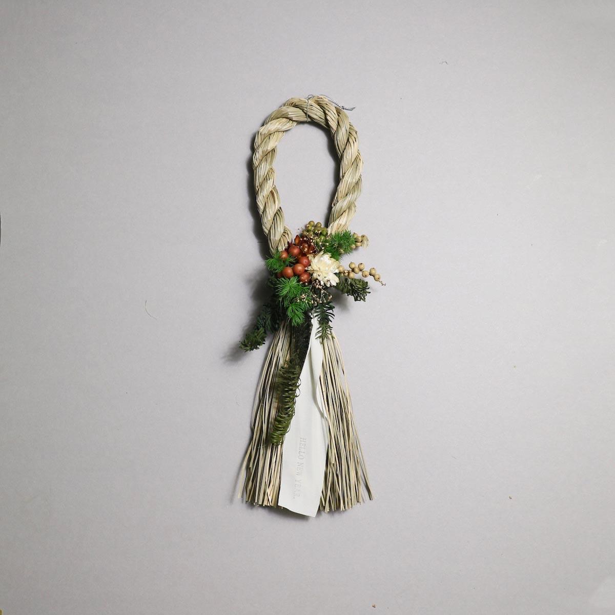 BOTANIZE&D / SHIMENAWA wreathe SLIM (typeA)正面