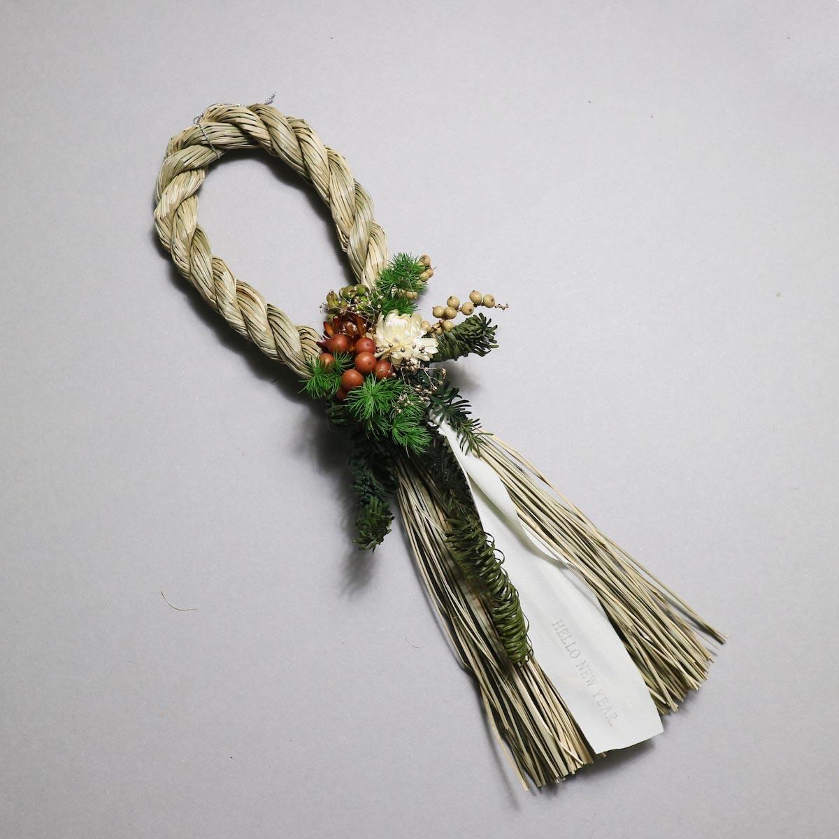 BOTANIZE&D / SHIMENAWA wreathe SLIM (typeA)アップ