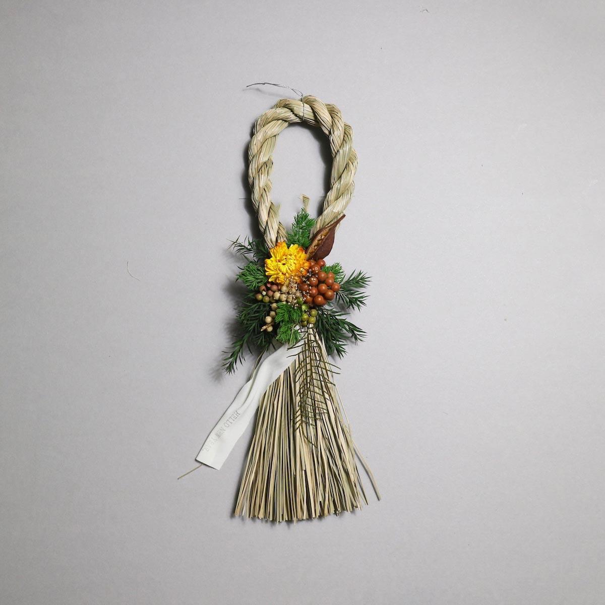 BOTANIZE&D / SHIMENAWA wreathe SLIM (typeB)正面