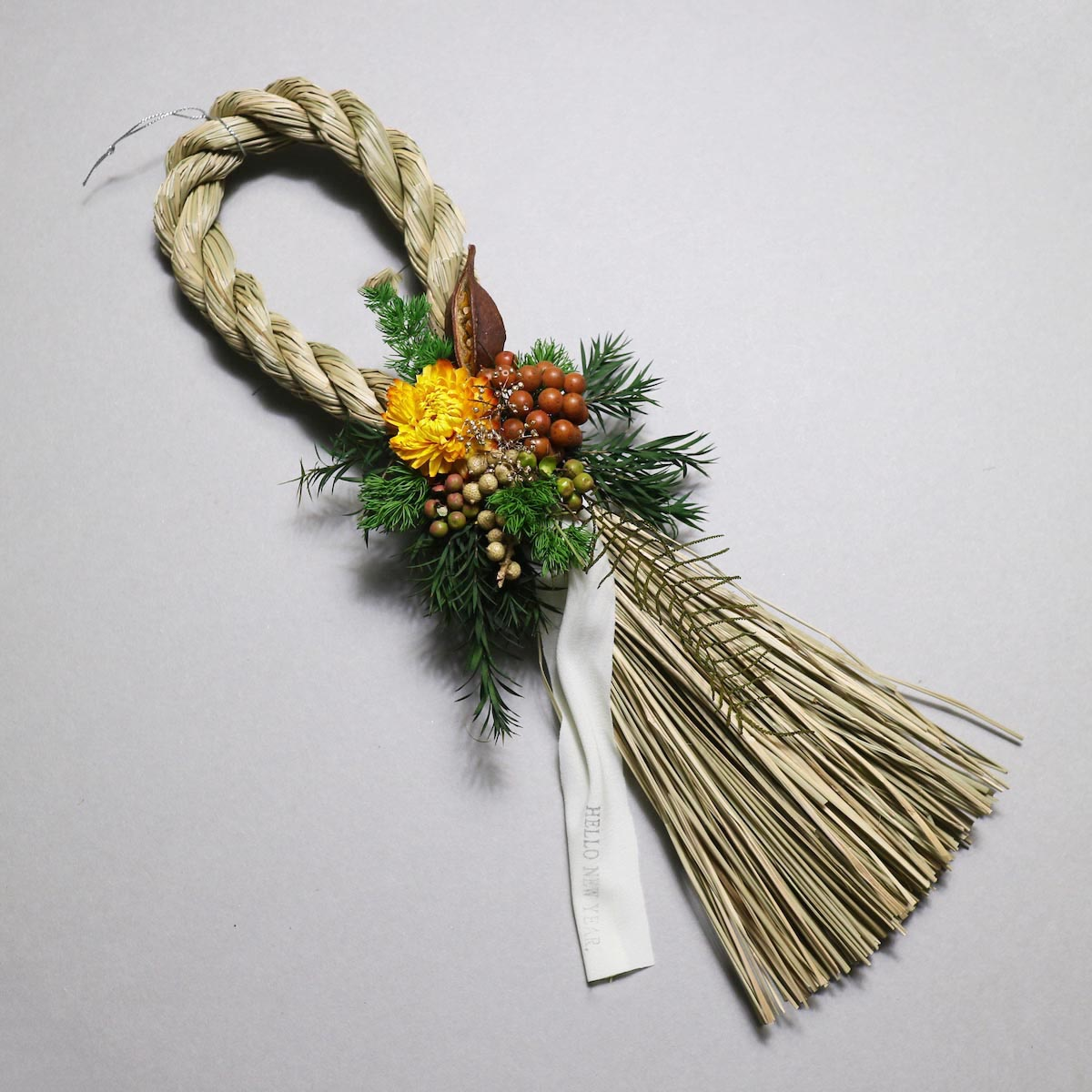 BOTANIZE&D / SHIMENAWA wreathe SLIM (typeB)アップ