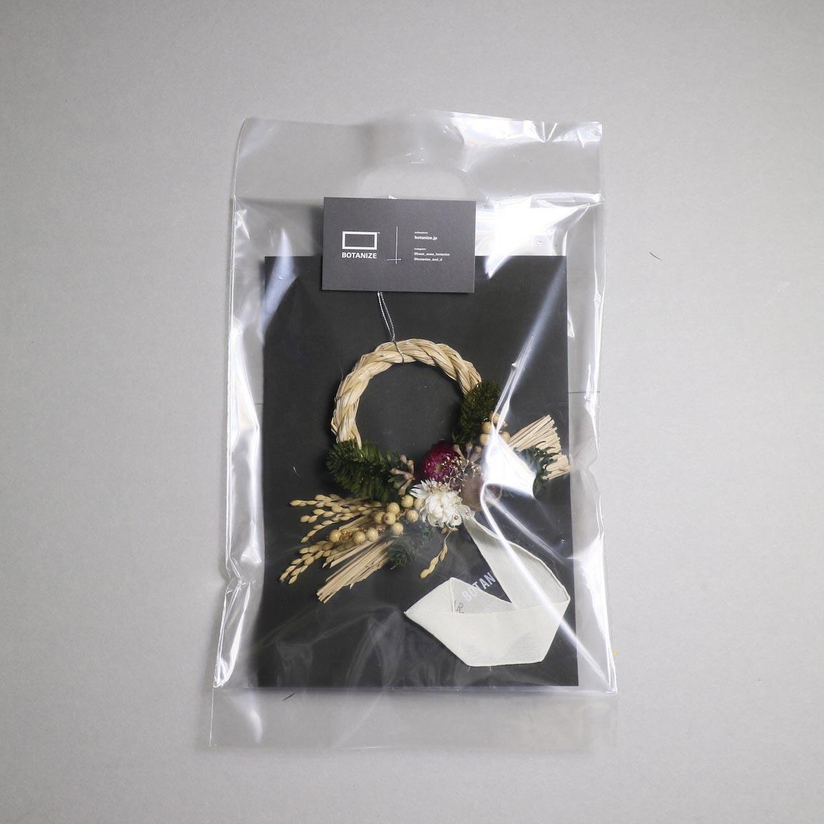 BOTANIZE&D / SHIMENAWA wreathe -XS- (typeA)