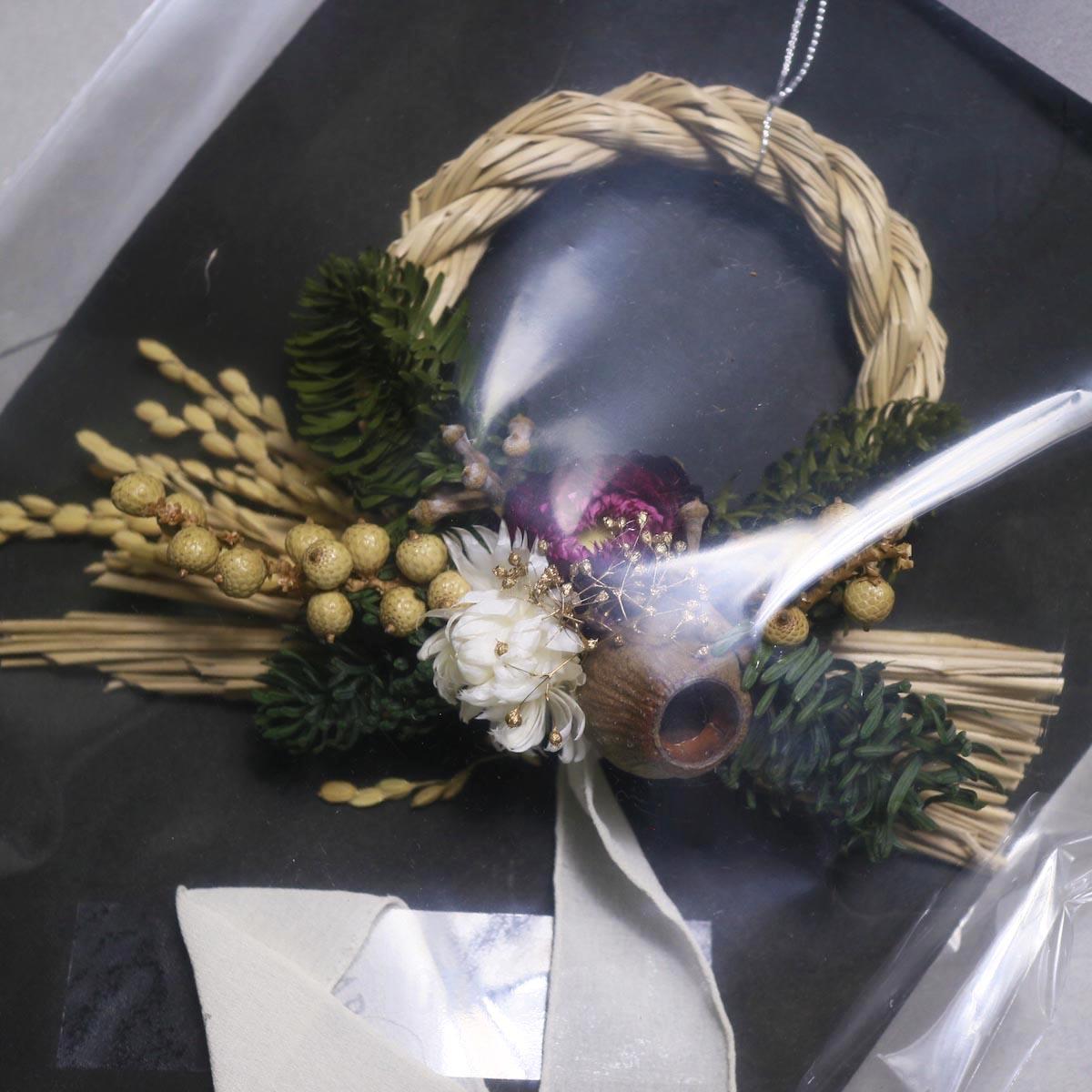 BOTANIZE&D / SHIMENAWA wreathe -XS- (typeA)アップ