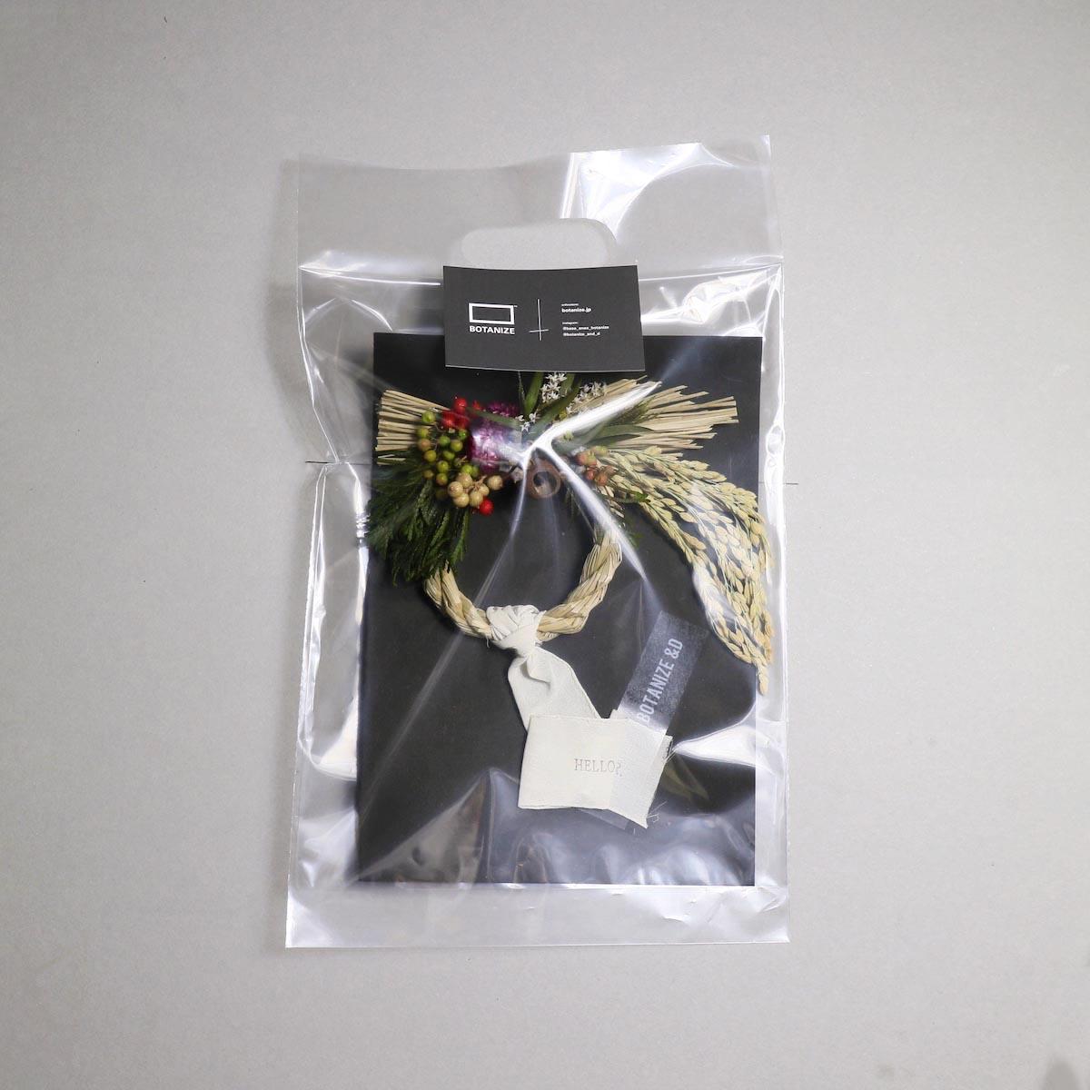 BOTANIZE&D / SHIMENAWA wreathe -XS- (typeB)