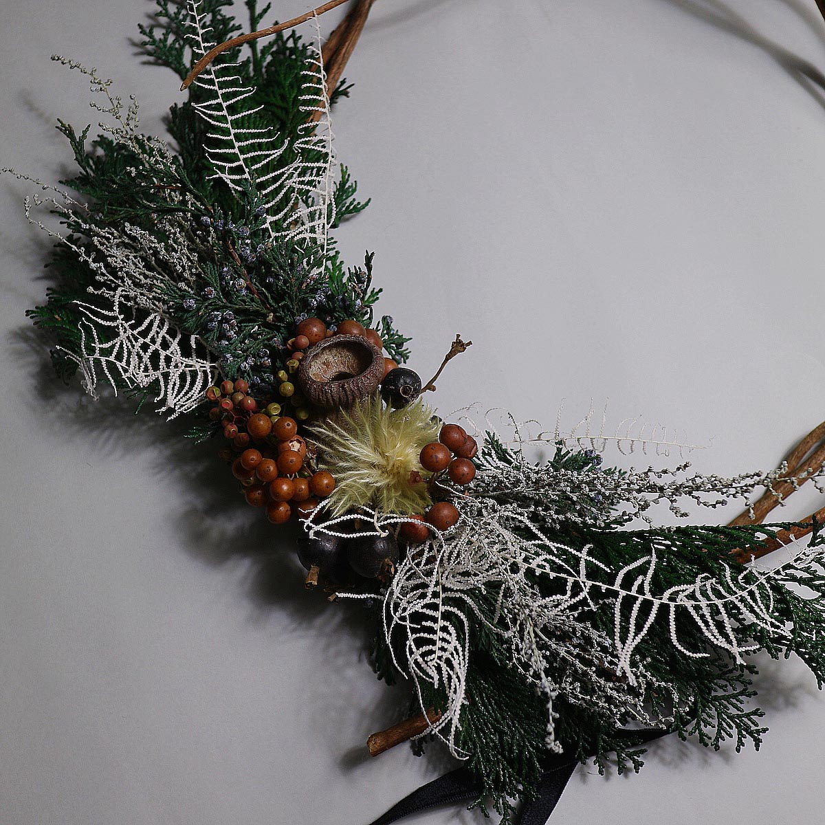 BOTANIZE&D / Christmas wreathe (Atype) アップ