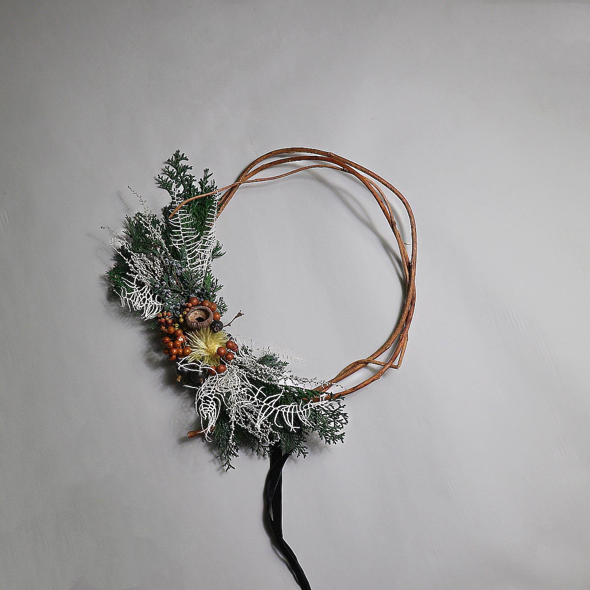 BOTANIZE&D / Christmas wreathe (Atype)正面