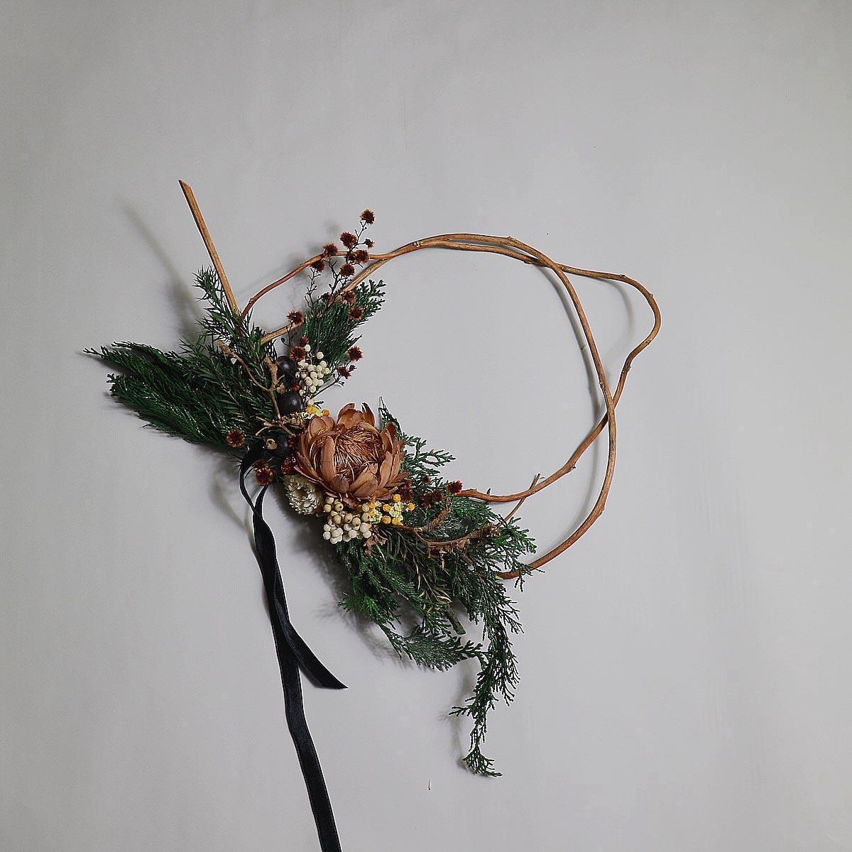 BOTANIZE&D / Christmas wreathe (Btype)