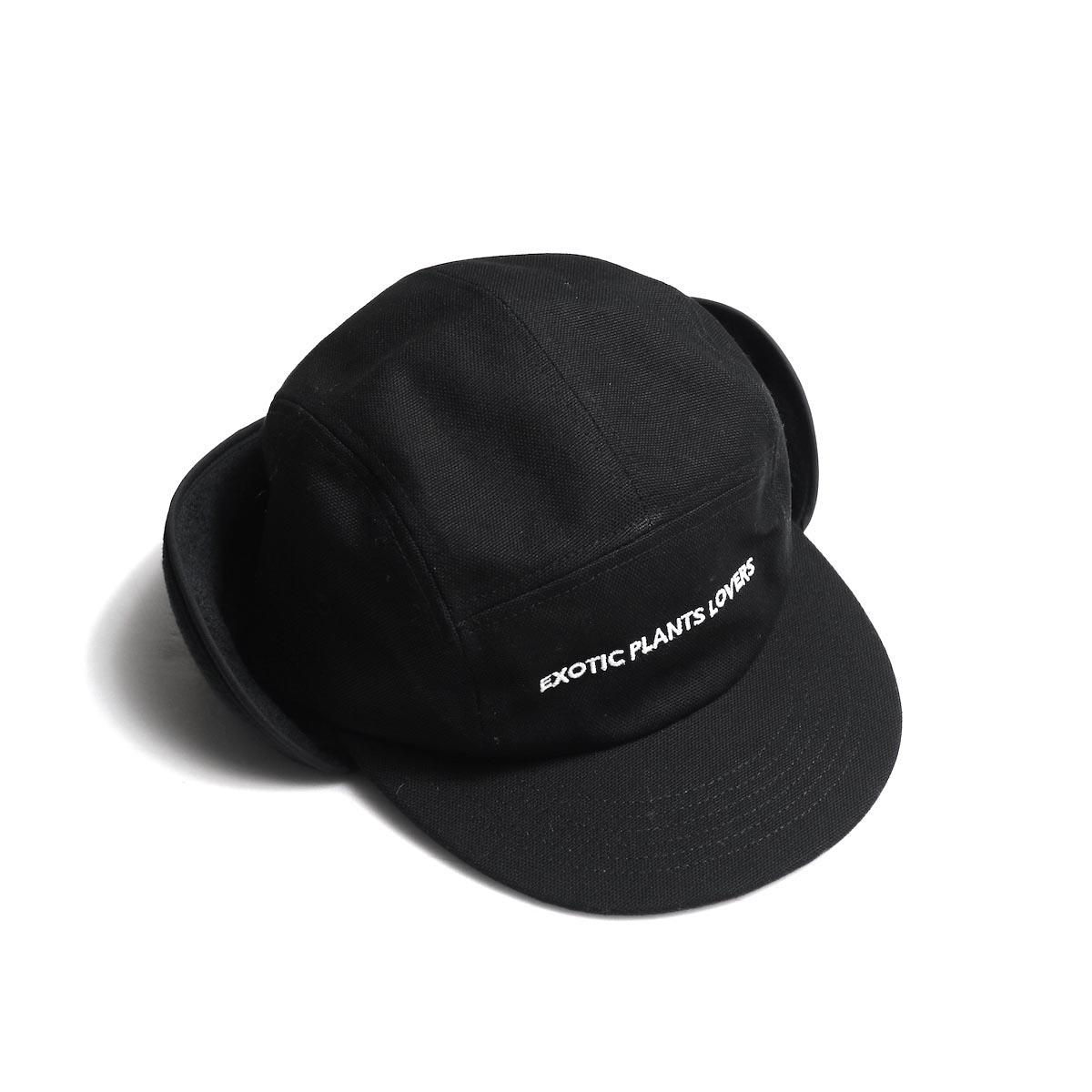 BOTANIZE / 【EXOTIC PLANTS LOVERS】 EAR FLAP CAP