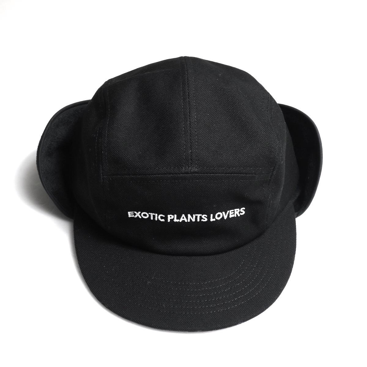 BOTANIZE / 【EXOTIC PLANTS LOVERS】 EAR FLAP CAP 正面