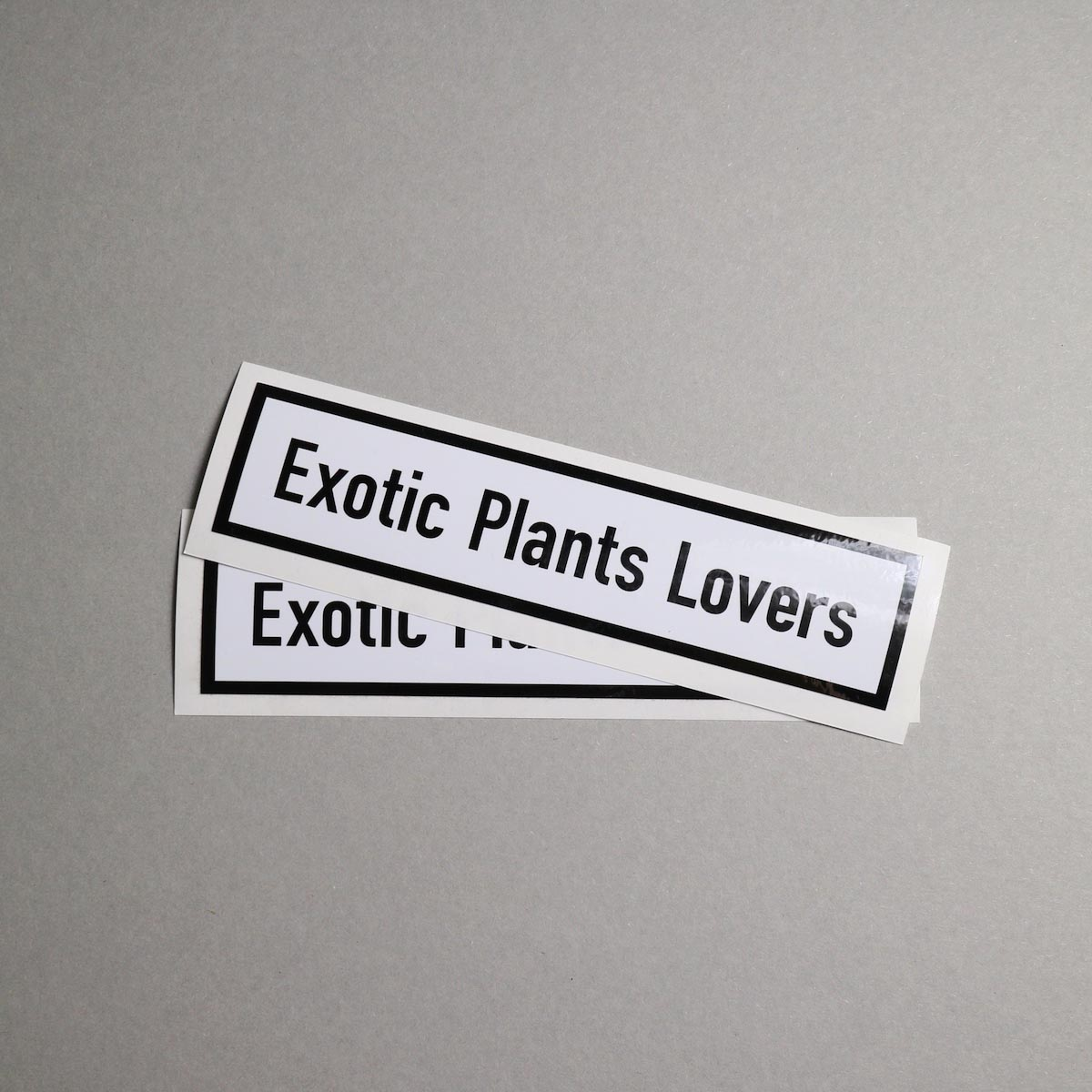 "BOTANIZE / ""EXOTIC PLANTS LOVER"" Sticker (Ver.1)"