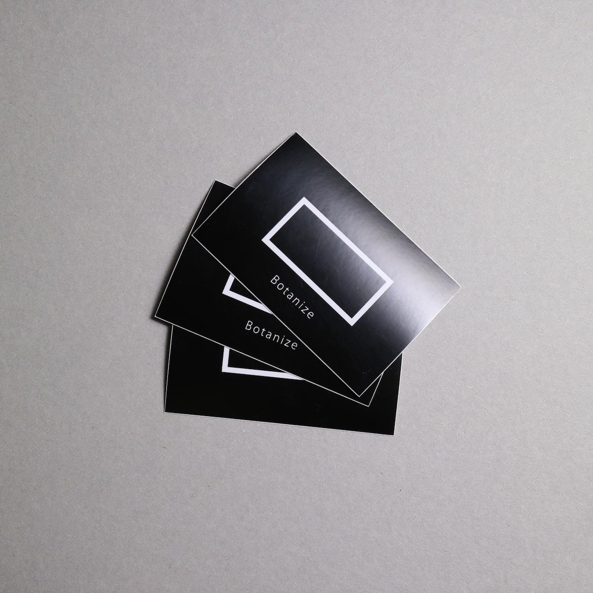 "BOTANIZE / ""BOTANIZE"" Sticker"