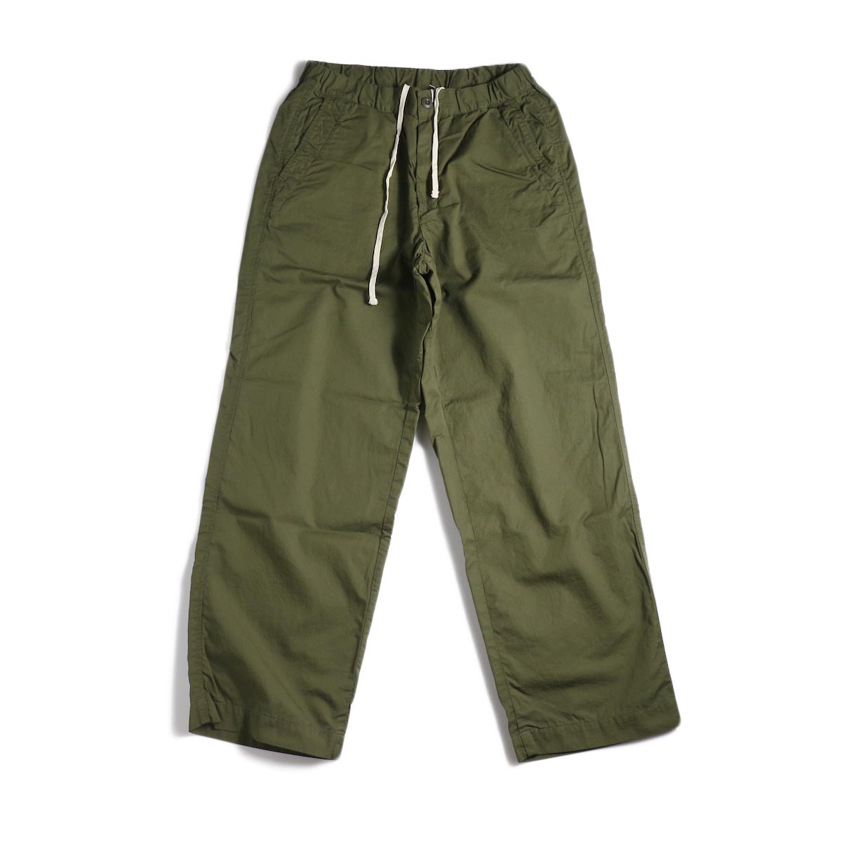 BRENA / Cotton&Linen Washer Kersey Coq Pants (Amg)