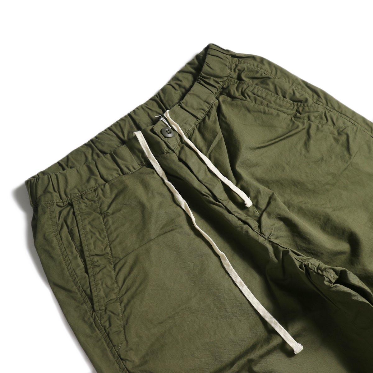 BRENA / Cotton&Linen Washer Kersey Coq Pants (Amg)ウエスト