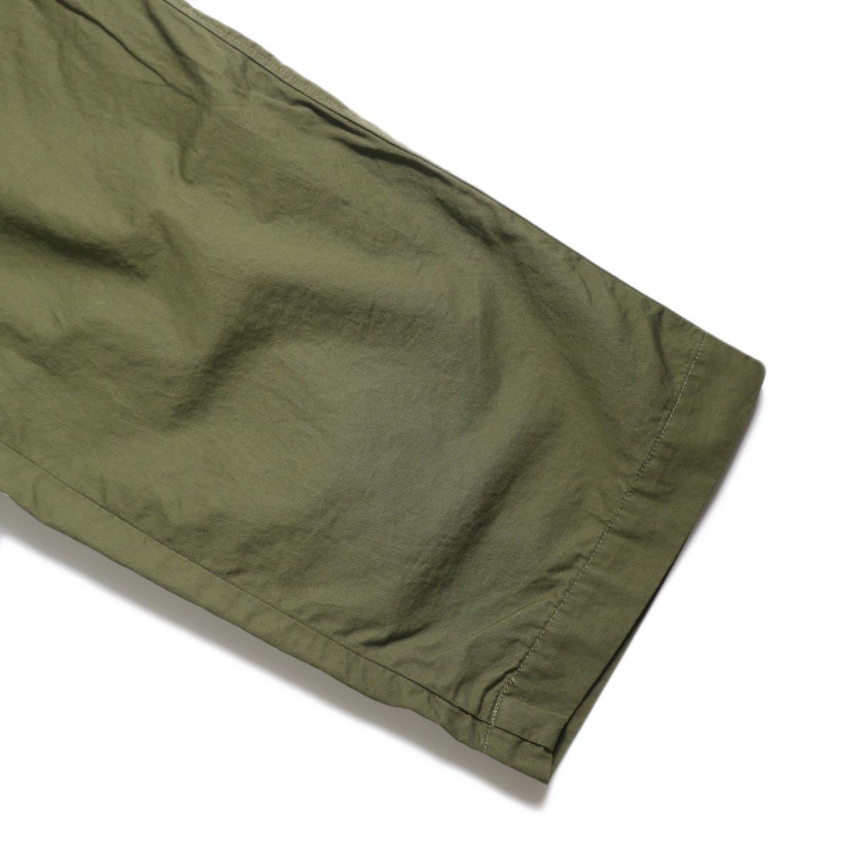 BRENA / Cotton&Linen Washer Kersey Coq Pants (Amg)裾