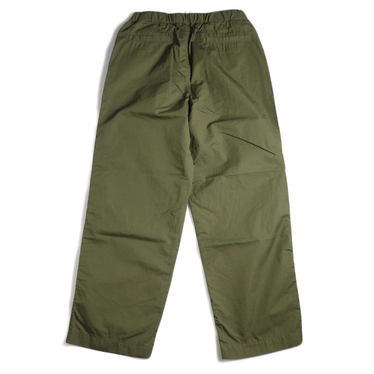 BRENA / Cotton&Linen Washer Kersey Coq Pants (Amg)背面