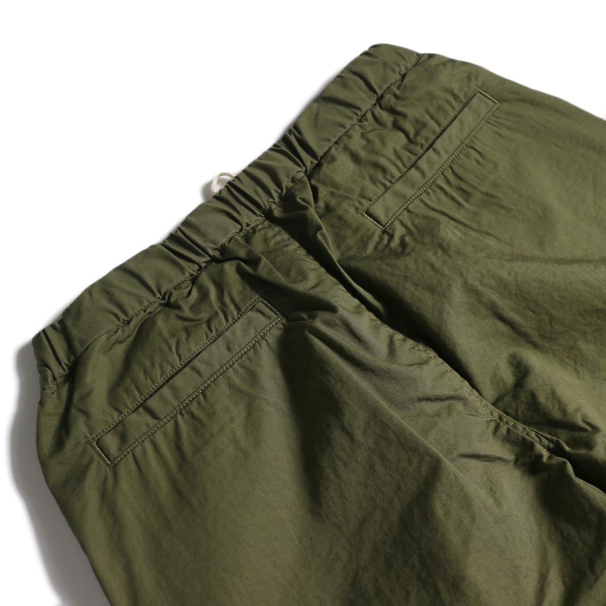 BRENA / Cotton&Linen Washer Kersey Coq Pants (Amg)ヒップポケット