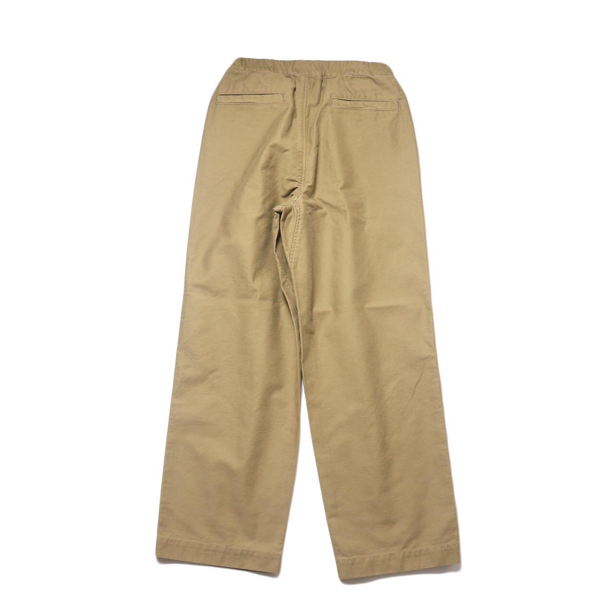 BRENA / Coq Pants (beige) 背面