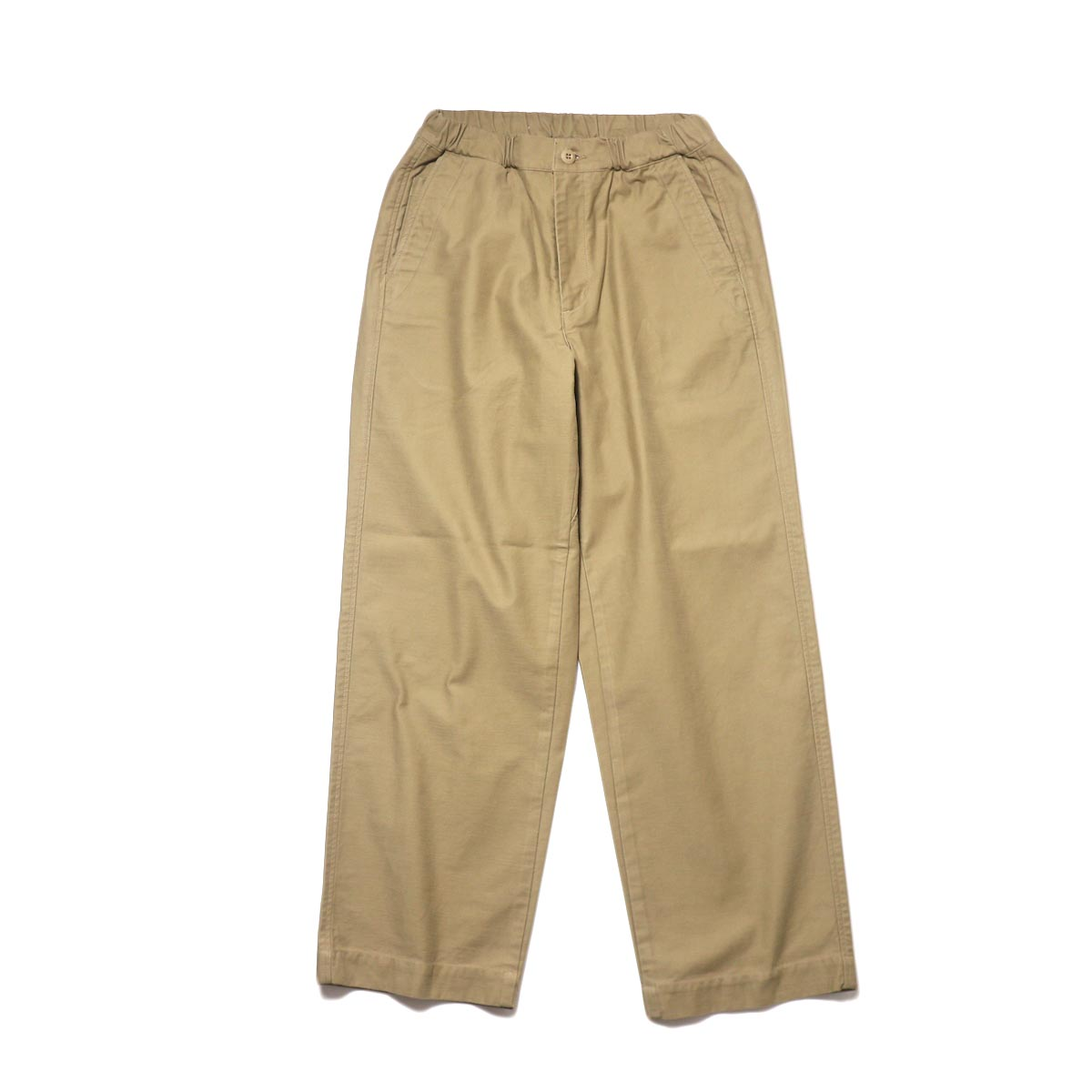 BRENA / Coq Pants (beige) 正面