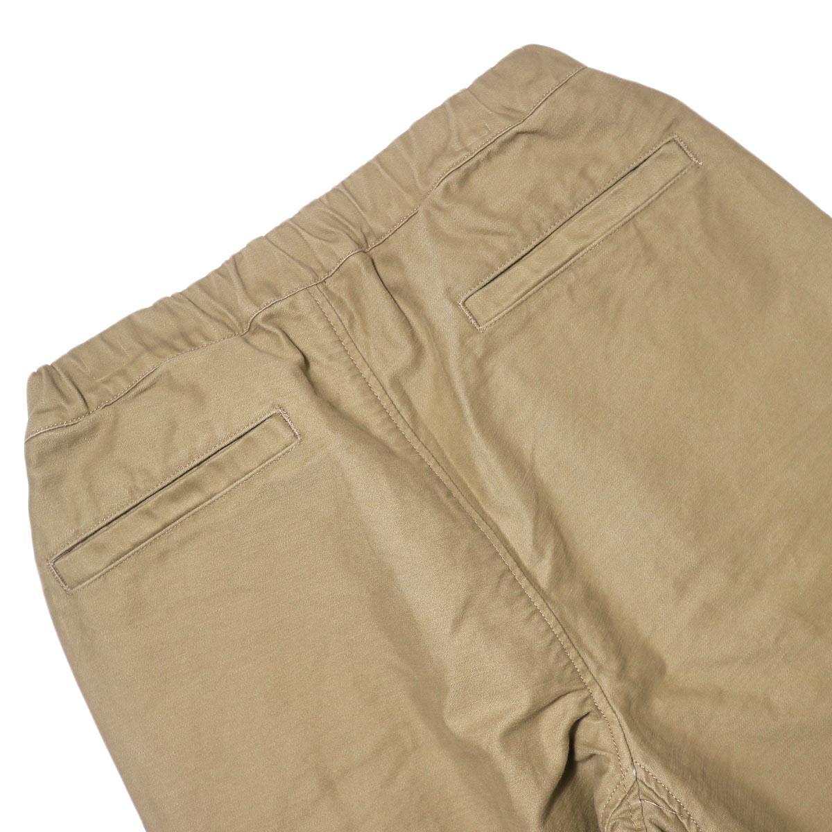BRENA / Coq Pants (beige) バックポケット
