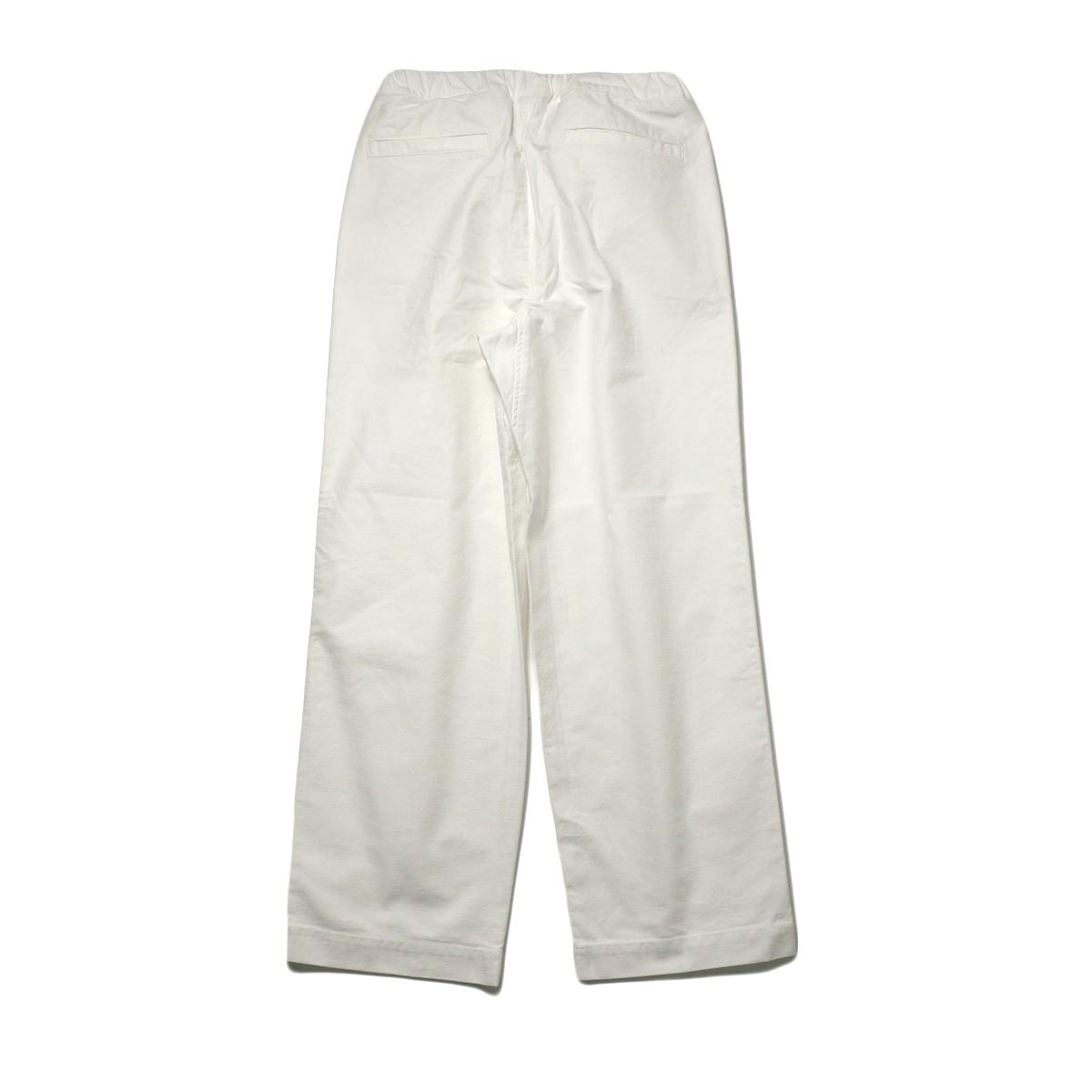 BRENA / Coq Pants (milk) 背面