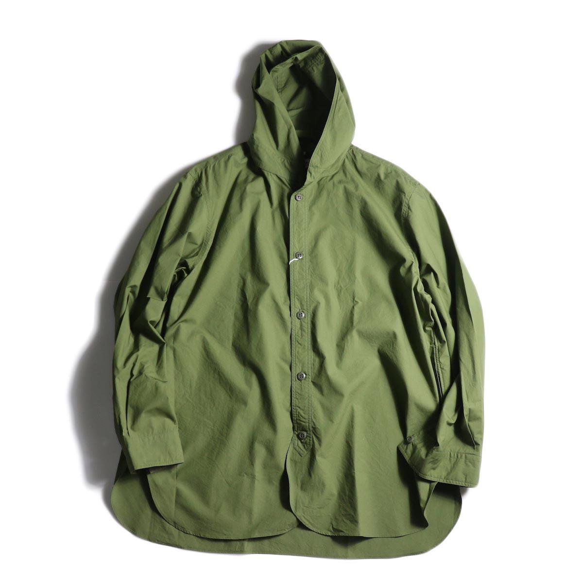 BRENA / Hood Work Shirt (Amg)