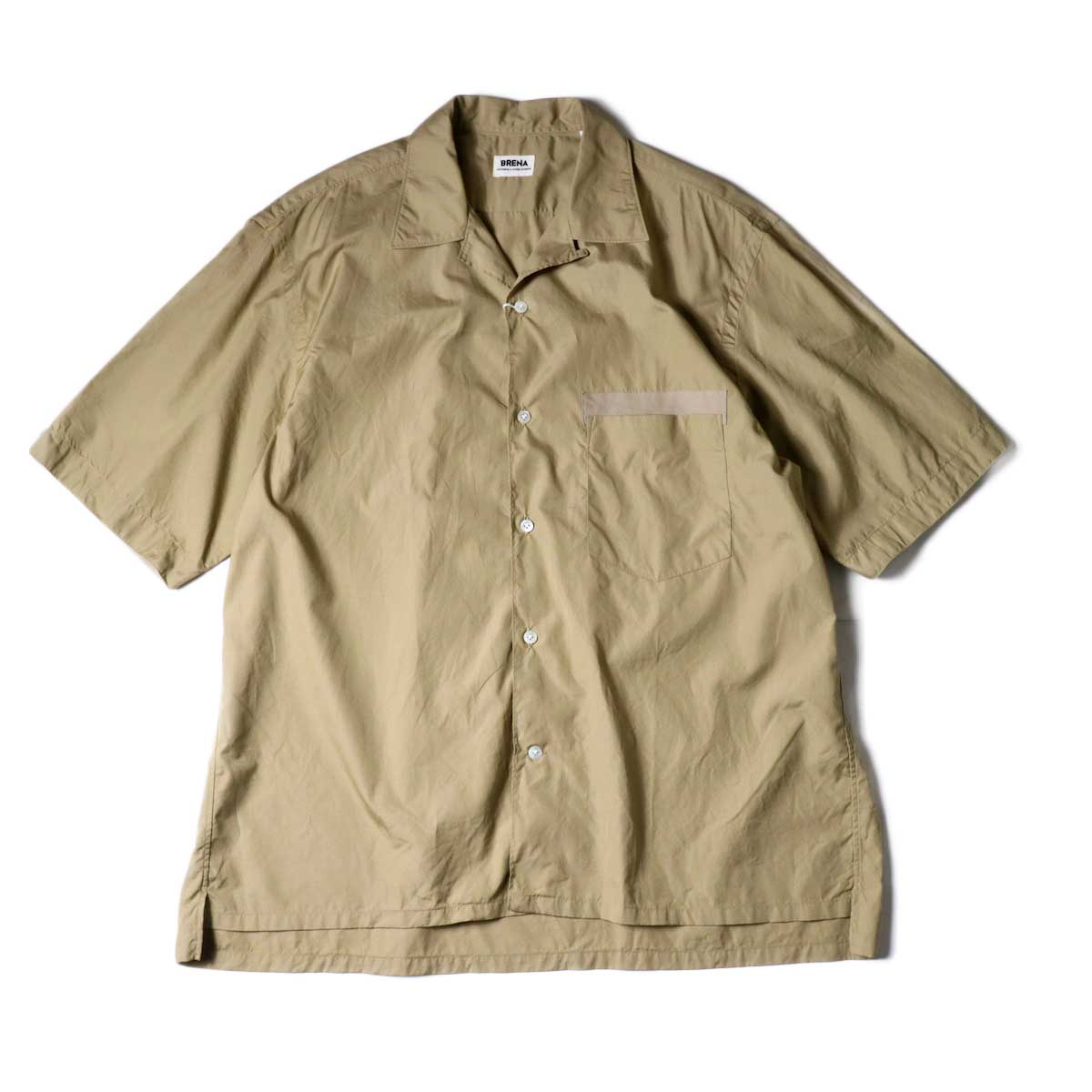 BRENA / OC-SS (Open Collar Shirt) Sand
