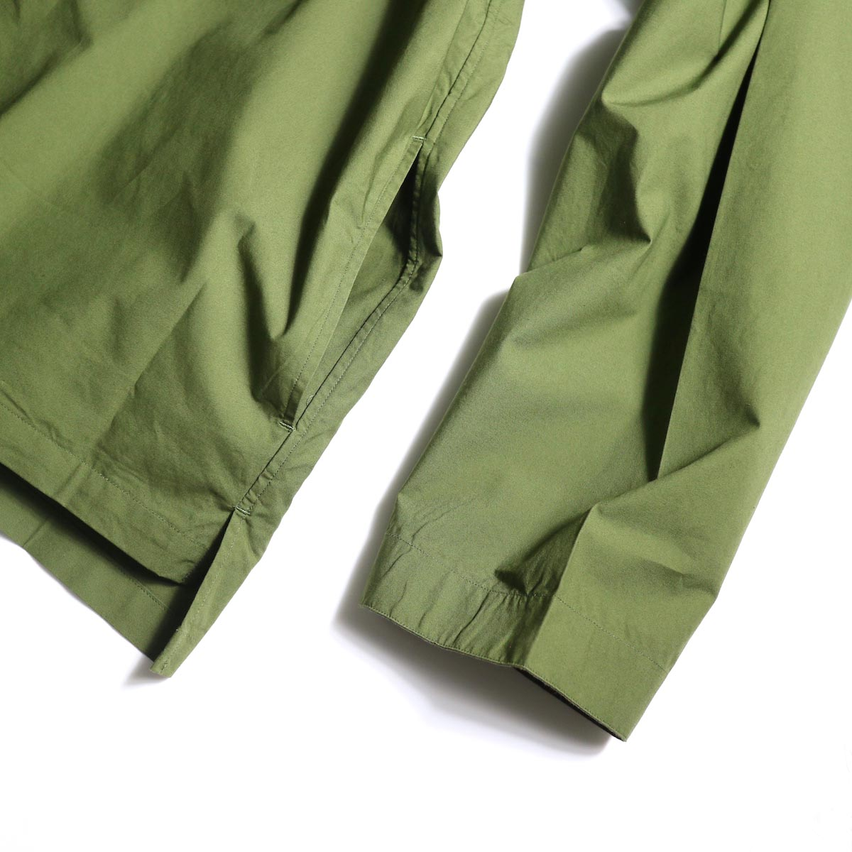 BRENA / Shell (Amg)裾、袖