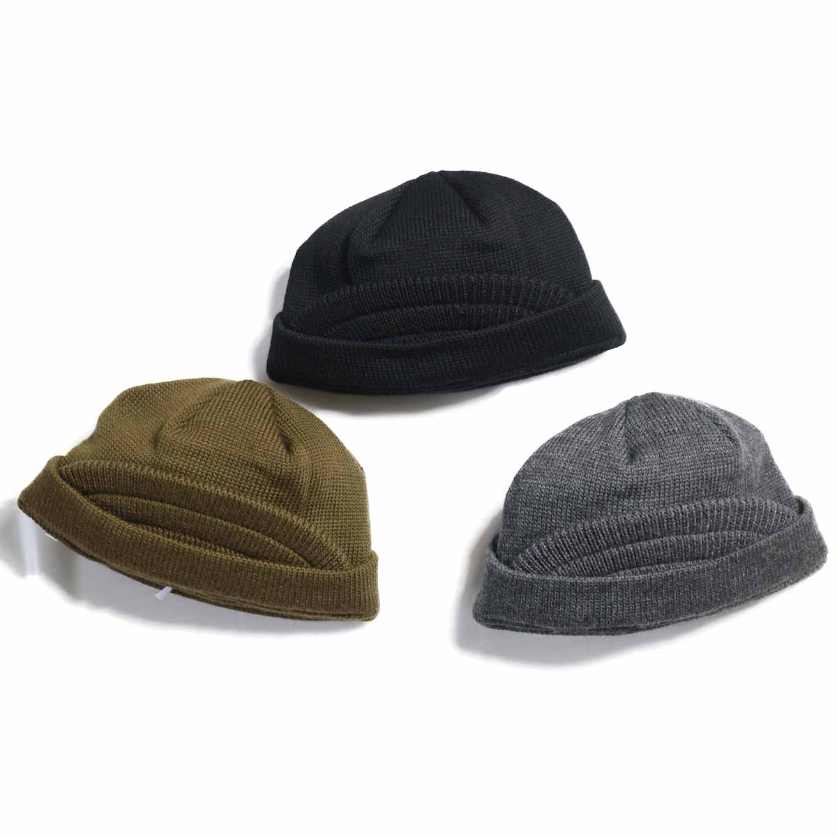 COMES AND GOES / BRIM KNIT CAP