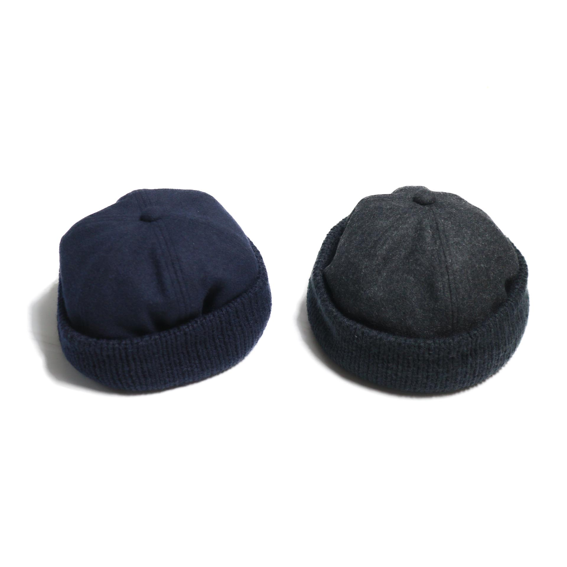 COMES AND GOES / KNIT&MELTON CAP