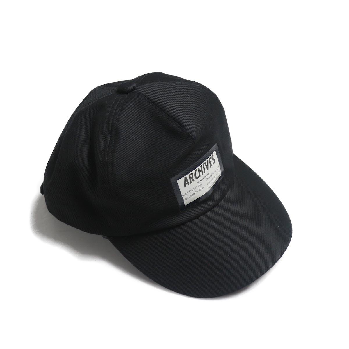 COMESANDGOES / Coating Assort Cap (NO.14508)BLACK