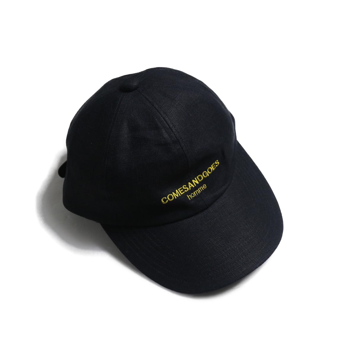 COMESANDGOES / COMES Homme Linen Cap (NO.14518) Navy