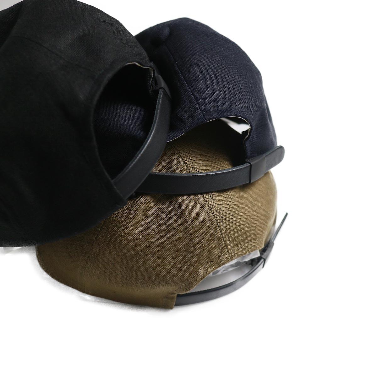 COMESANDGOES / COMES Homme Linen Cap (NO.14518) アジャスター